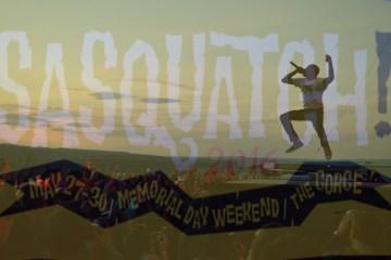 Sasquatch 2016 Pics