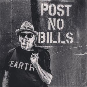 Neil Young Protestor