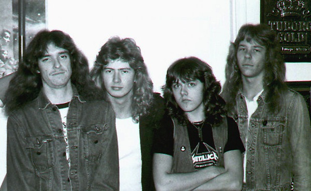 Metallica With Dave Mustaine
