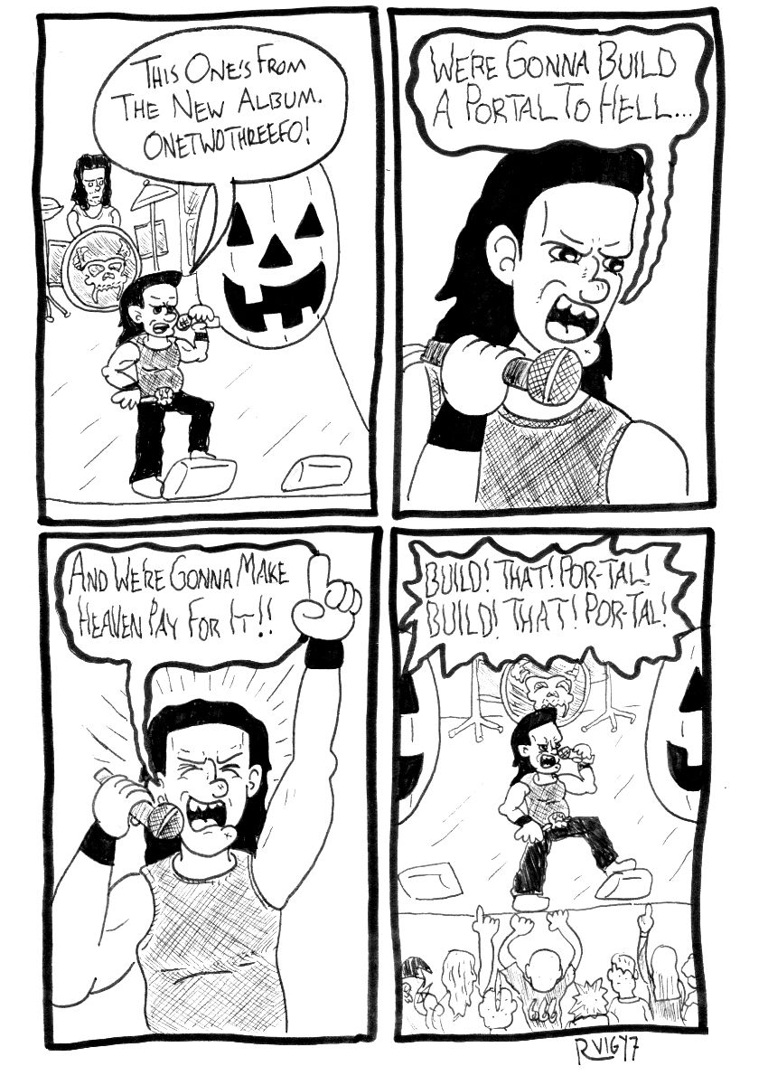 Danzig Comic Strip