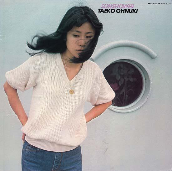 Japanese City Pop Taeko Ōnuki Album Cover