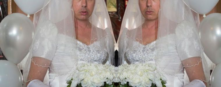 Angus Andrew Wedding Dress Liars TFCF