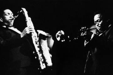 Miles Davis and John Coltrane Final Tour