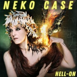 the cover art of neko case's HELL-ON