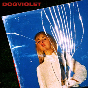 the cover art to laurel's DOGVIOLET