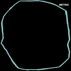 cover image for metric's ART OF DOUBT album