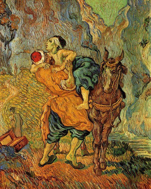 Van Gogh in the Vatican   BEARDED ROMAN