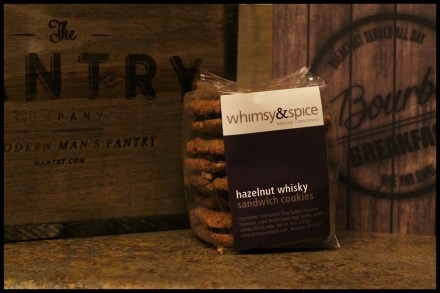 Hazelnut Whiskey Cookies by Whimsy & Spice