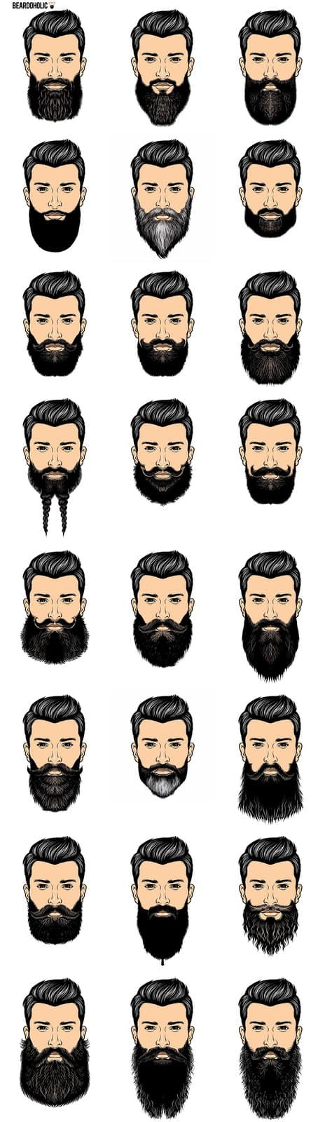 Beards of Silicon Valley