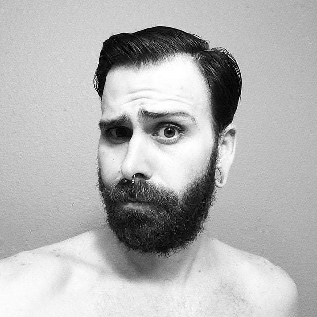 beard growth stages by week