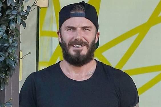 beckham full beard