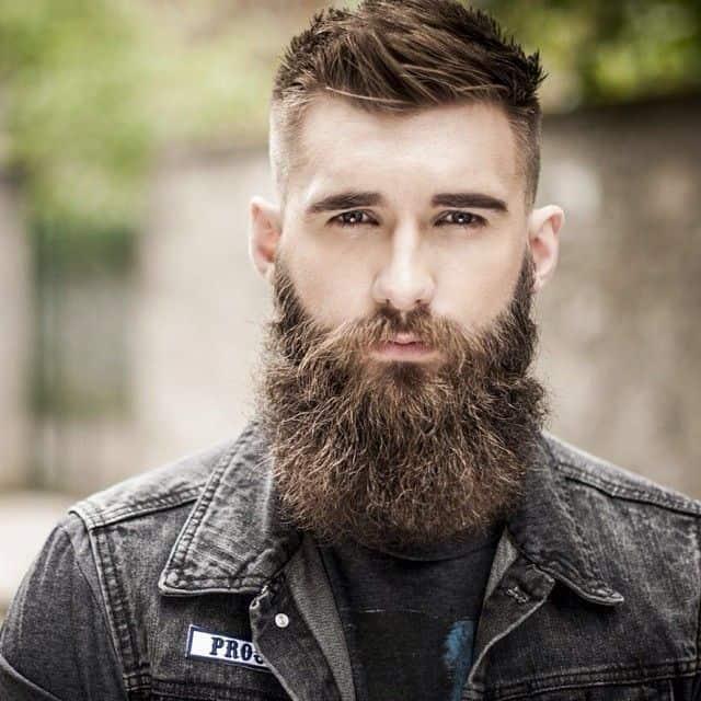 long attractive beard with spike ahir