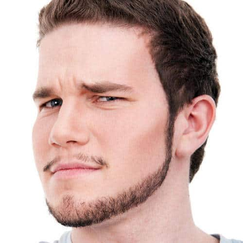 chinstrap beard for stylish men