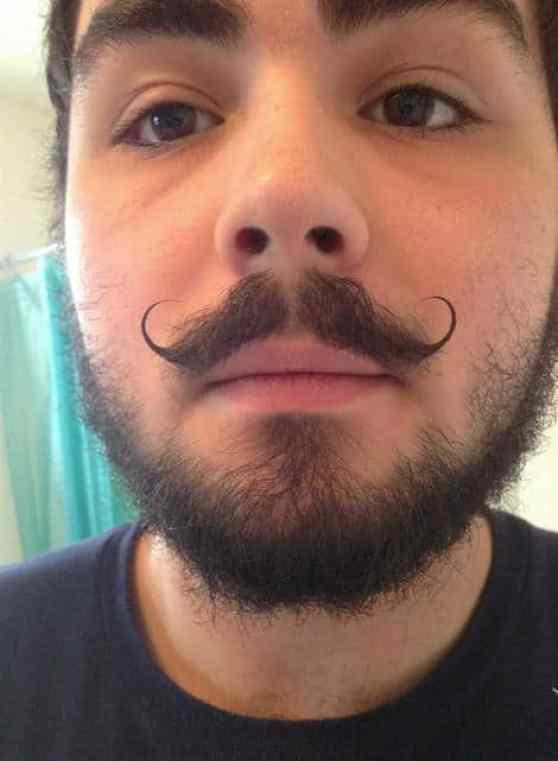 mustache style 16