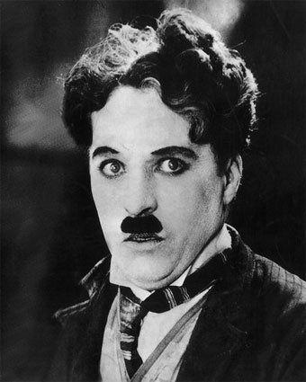 the grate Chaplin mustache style