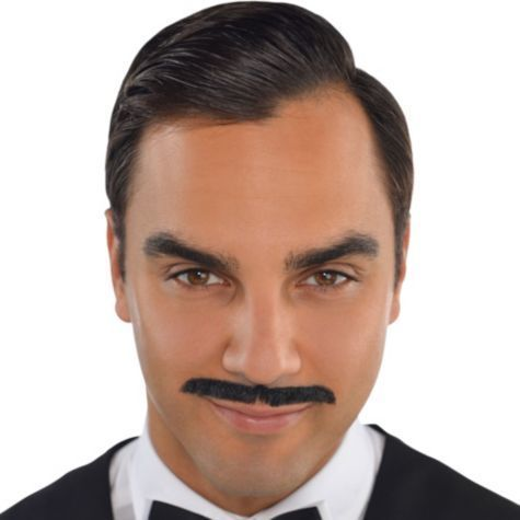 Pencil-moustache