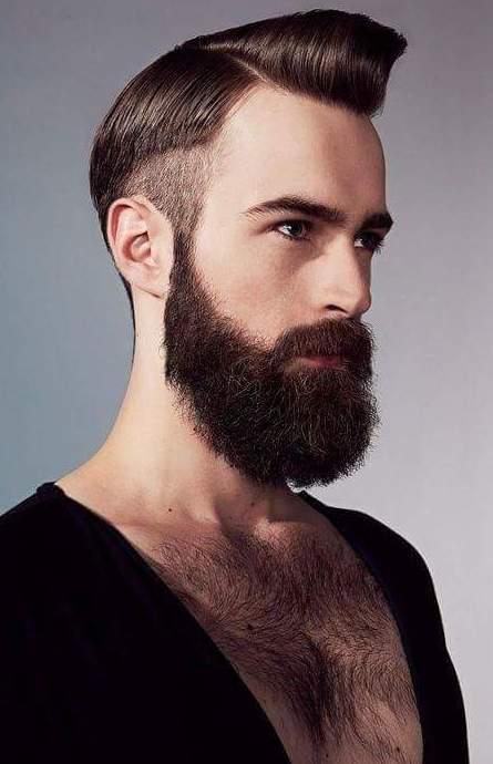 Dark Magic light black beard