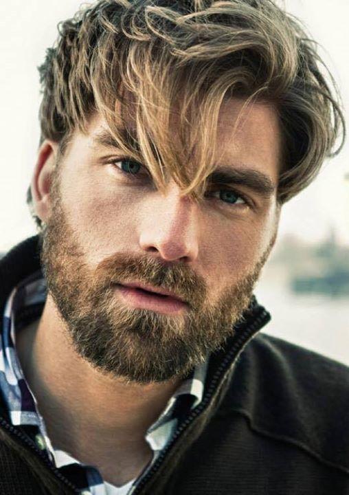 blonde beard styles for men