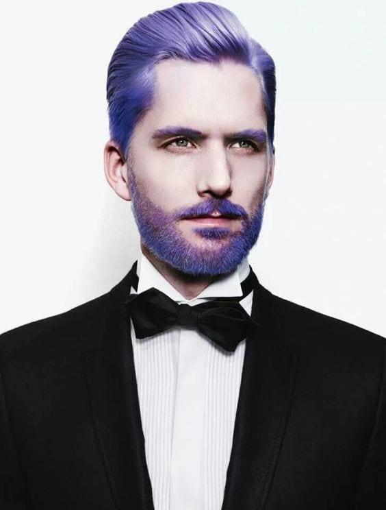 Regal Purple beard color for men