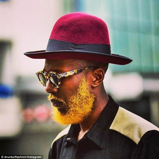 Golden Yellow color beard you like