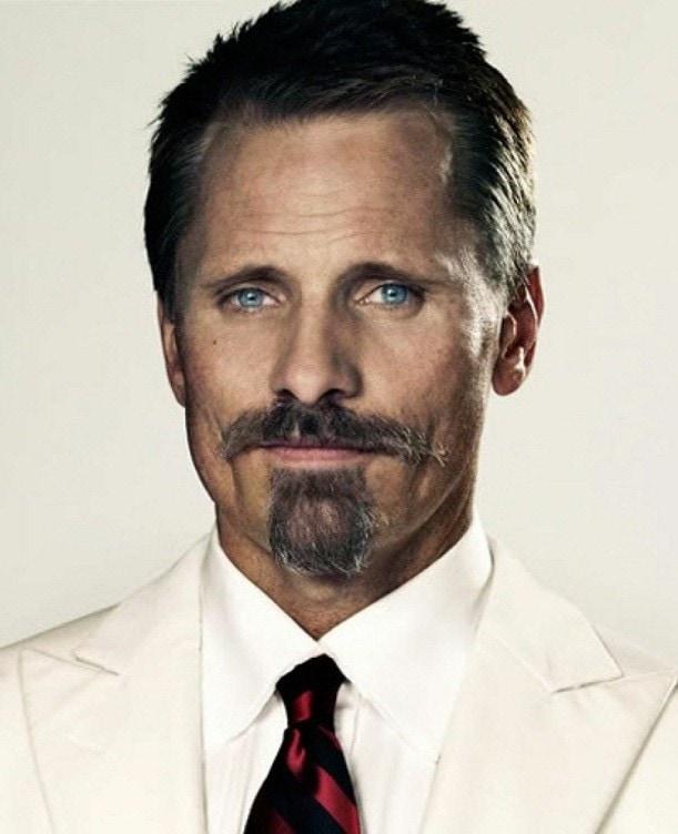 Modern Colonel dyke beard style