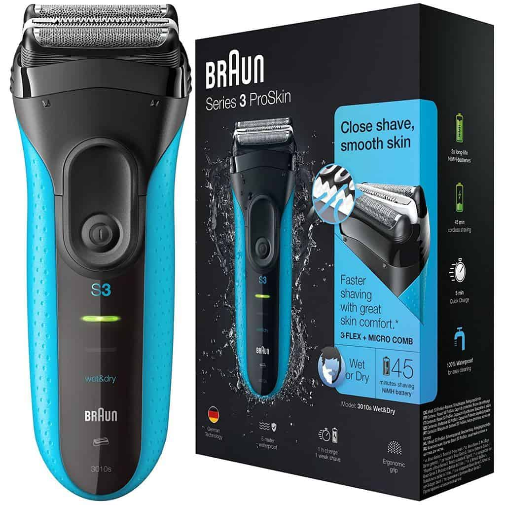 Braun Series 3 ProSkin 3010s Men's Electric Foil Shaver / Rechargeable Electric Razor