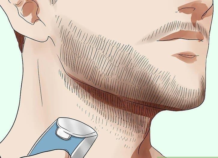 Trim off the beard