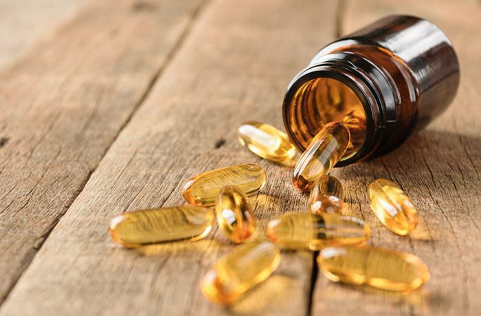 eating vitamins for healthy beard