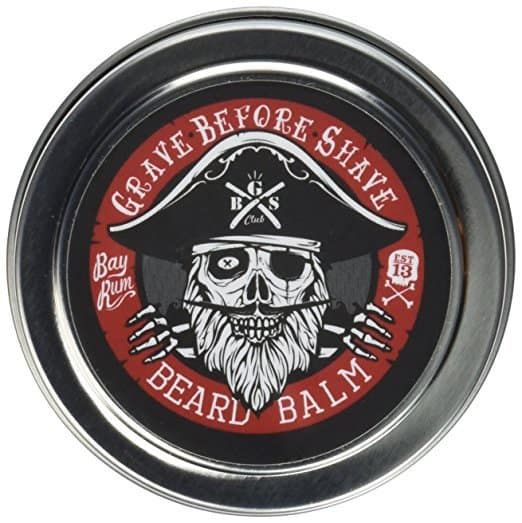 Grave Before Shave™ Bay Rum Beard Balm