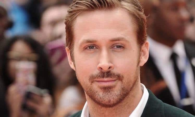 5'0 clock shadow beard of Ryan Gosling