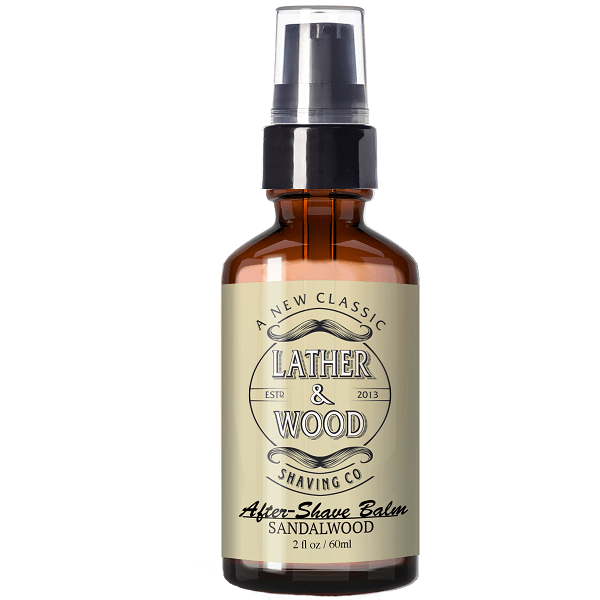 Lather & Wood Shaving Co. Aftershave Balm