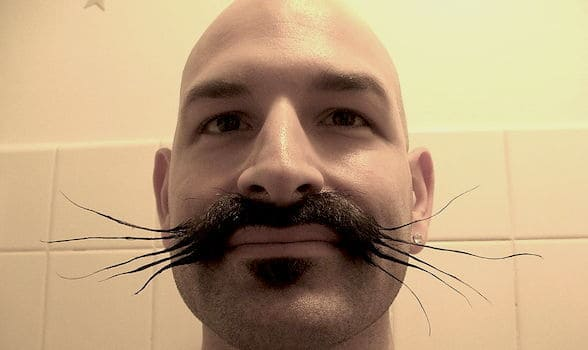 Whiskers - a funny mustache name