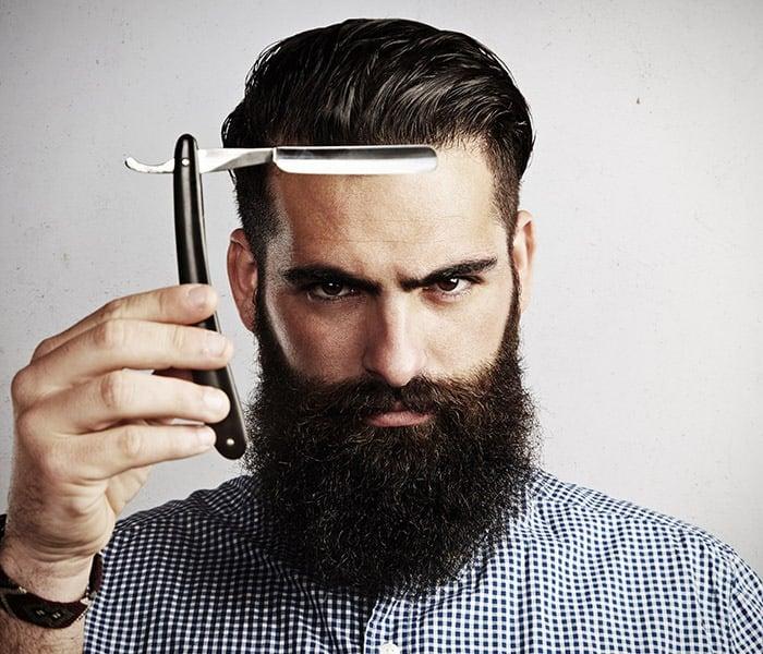 style the beard to make your beard soft