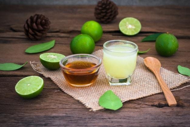 honey and lemon juice for soft beard