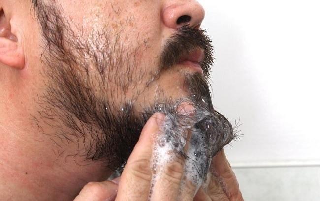 oil based shampoo for soft beard