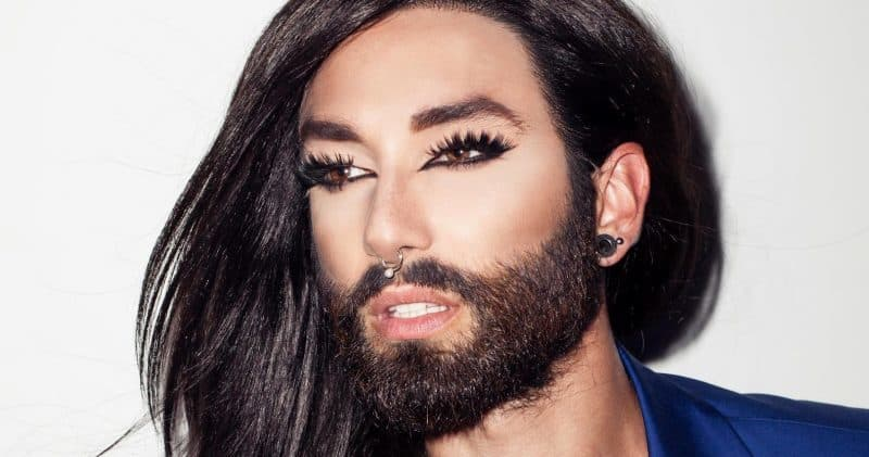 trans-woman beard