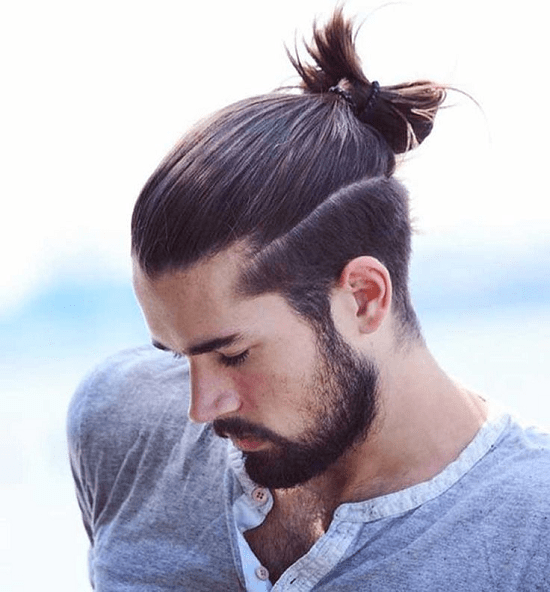 Long Hair With A Medium Beard