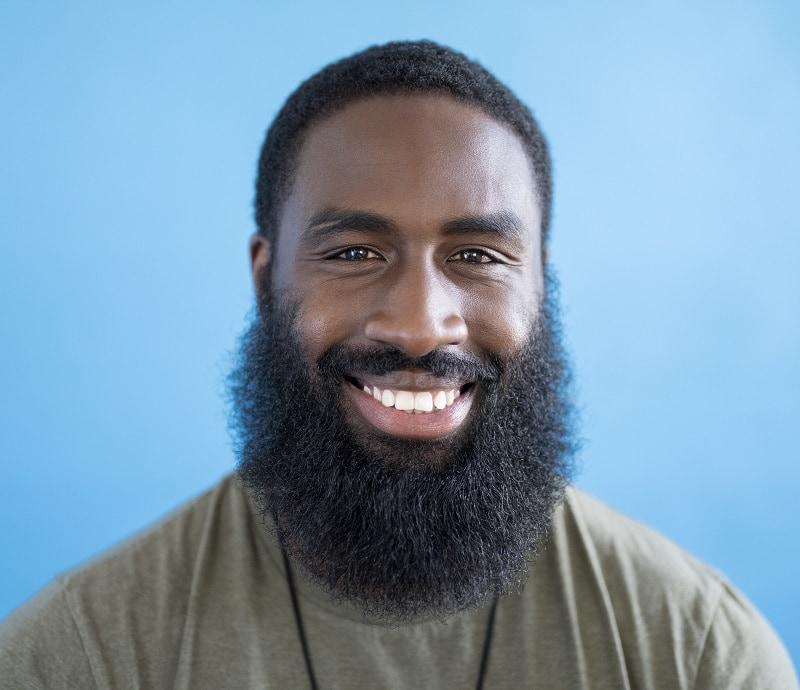 long beard for black men