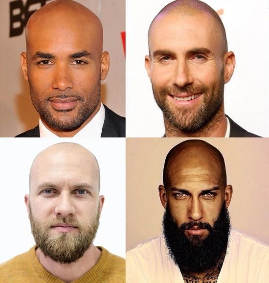 Beard Type for bald man