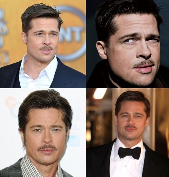 Brad Pitt's Mustache