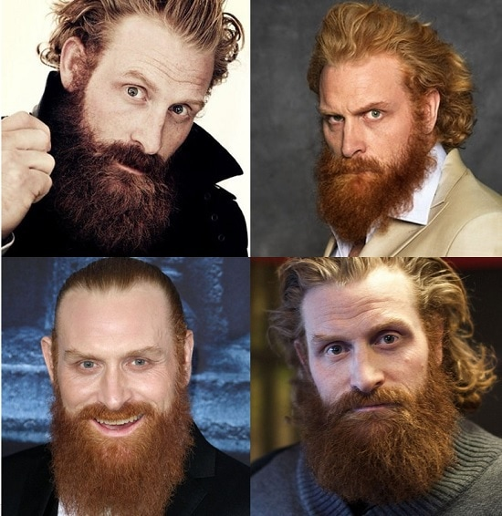 Kristofer Hivju's Beard style