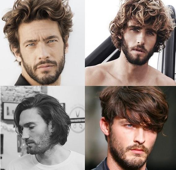 Beard Type for medium hair length