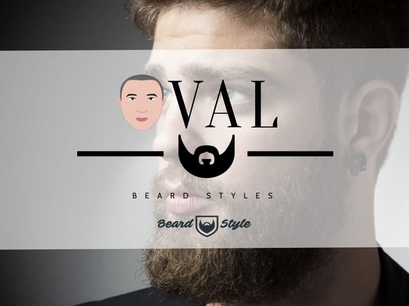 beard style for oval face