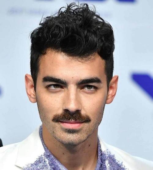 Chevron Mustache Type
