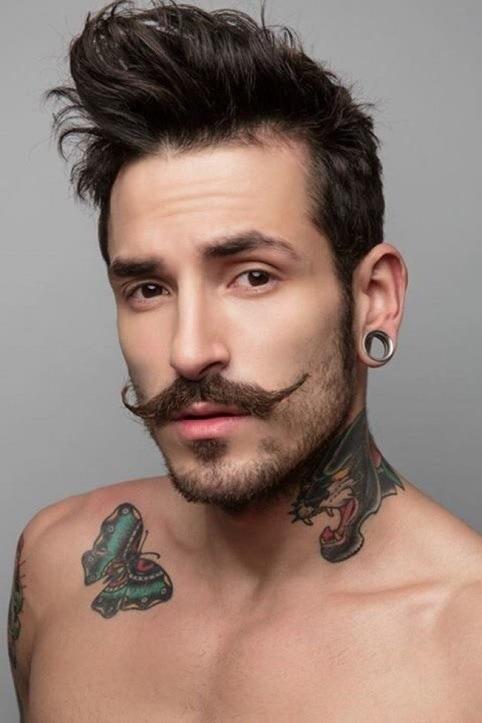 salvador dali mustache for long faced men