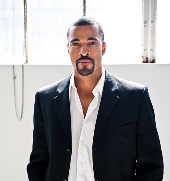 classic goatee style for black men