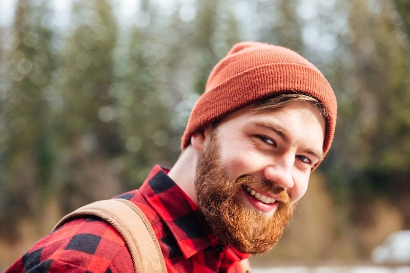guy with ginger beard