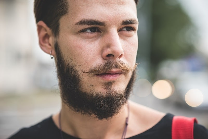 guy with hipster beard