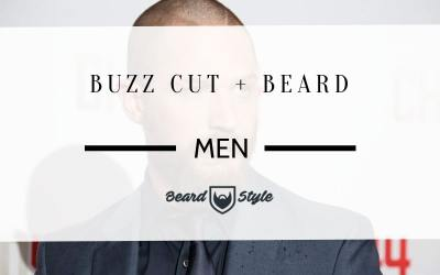 buzz cut and beard