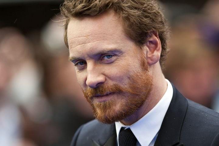 men with Irish beard